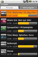 Screenshot of TV Guide for Norway