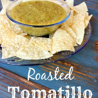 Roasted Tomatillo Sauce.