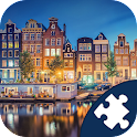 Amsterdam Jigsaw Puzzle icon
