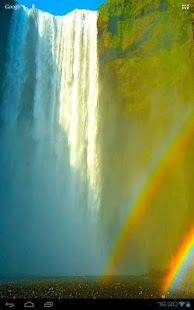 Bright Rainbow Waterfall- screenshot thumbnail