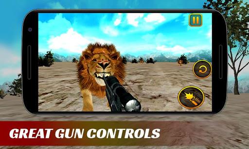 最終的獅子狩獵3D