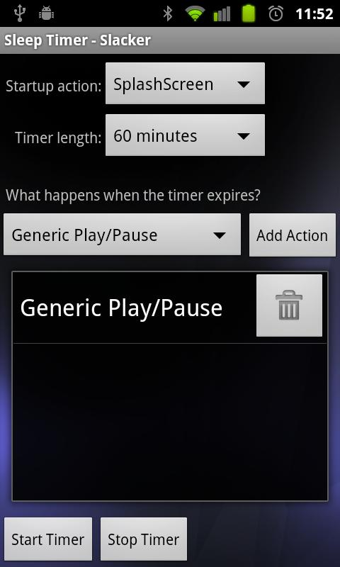 Sleep Timer- screenshot