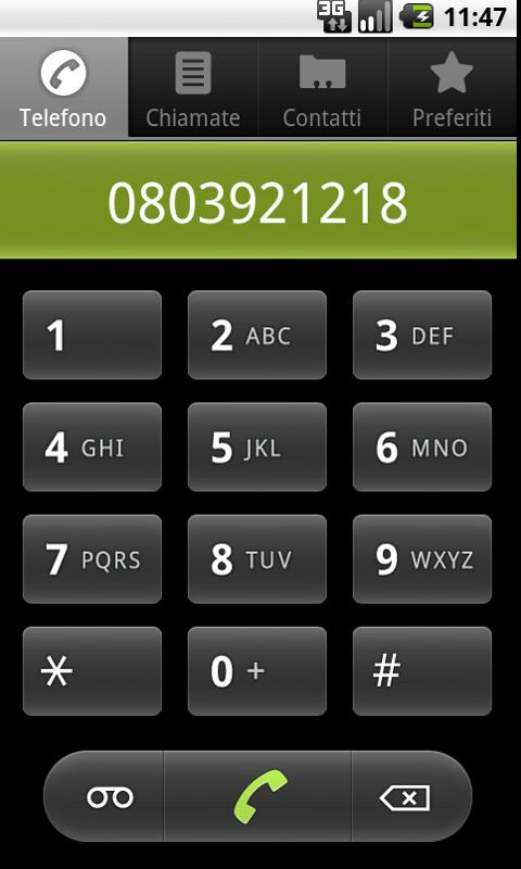 Molfetta's usefull phone Num. - screenshot