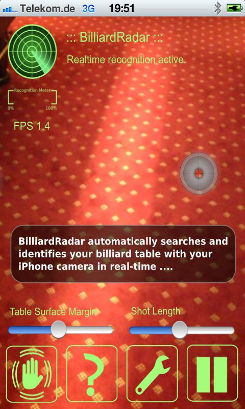 BilliardRadar™- screenshot