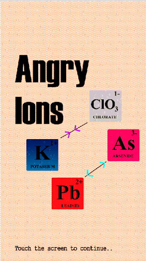 Angry Ions