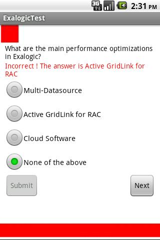 Oracle Exalogic Test- screenshot