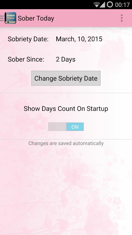 Recovery dating app
