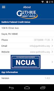 Guthrie FCU- screenshot thumbnail