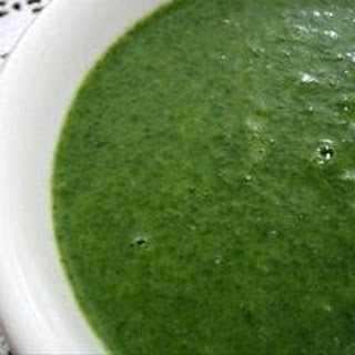 Popeye's Favorite (Spinach Soup)