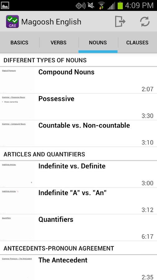 English Grammar Lessons- screenshot