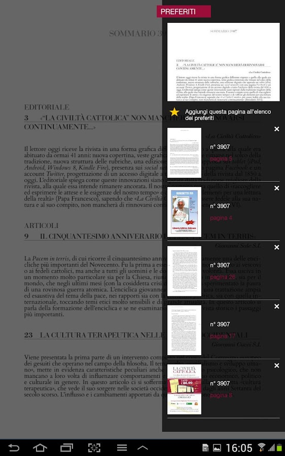 La Civiltà Cattolica- screenshot