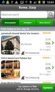ToucHotel - Hotels, Hotel - screenshot thumbnail
