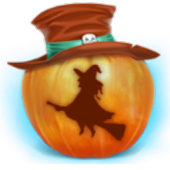 Happy Halloween Witch Theme
