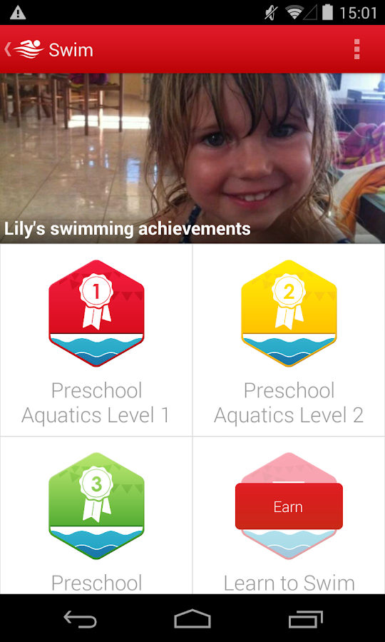 Swim - American Red Cross - screenshot