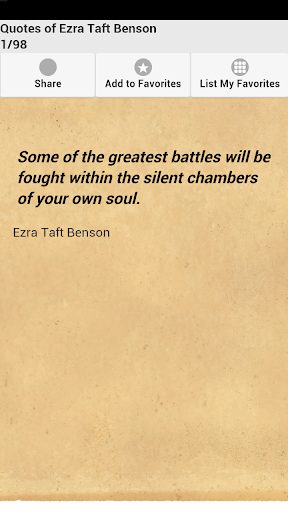 Quotes of Ezra Taft Benson