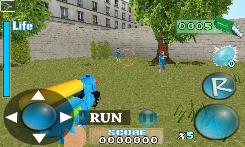 Aiden Water Gun Demo- screenshot
