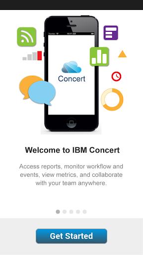 IBM Concert Mobile