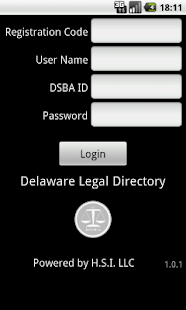 Delaware Legal Directory- screenshot thumbnail