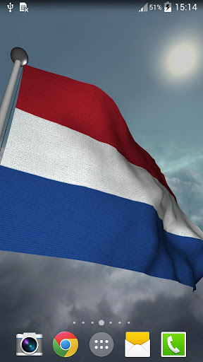Netherlands Flag - LWP