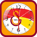 Galatasaray Analog Clock icon