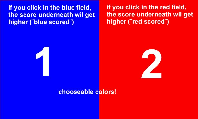 Score Keeper- screenshot