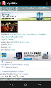 Exclusive Video Songs - screenshot thumbnail