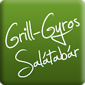 Gyros and food ordering icon