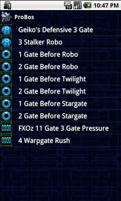 Starcraft 2 Build Orders - screenshot