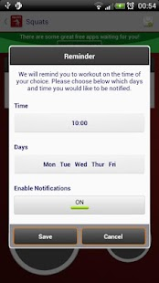 Squats - Fitness Trainer - screenshot thumbnail
