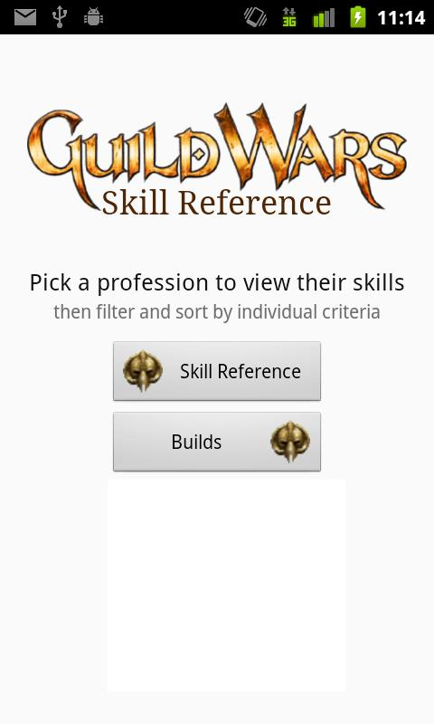 Guild Wars Skill Reference - screenshot