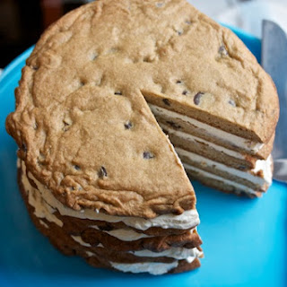 Giant Layered Cookie Cake.