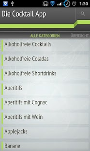 Die Cocktail App - screenshot thumbnail
