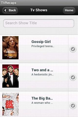 Watch TV on Mobile - screenshot