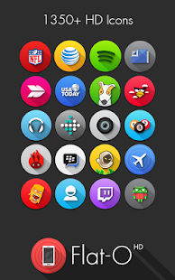 Flat-O Go Apex Nova Theme|玩個人化App免費|玩APPs