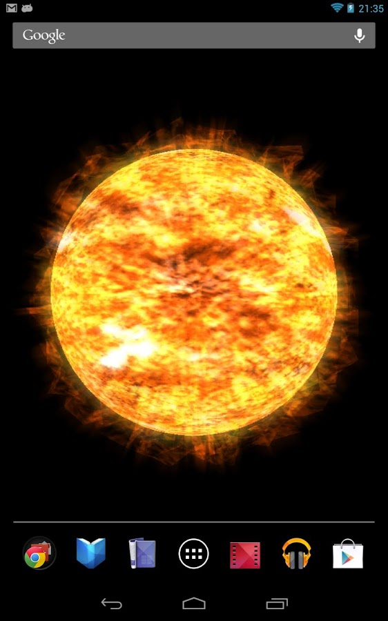 Your very own Sun! - screenshot