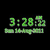 3Cats Clock Widget + Seconds