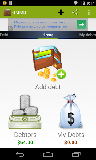 My Money Debt Control