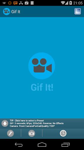 Camera to GIF