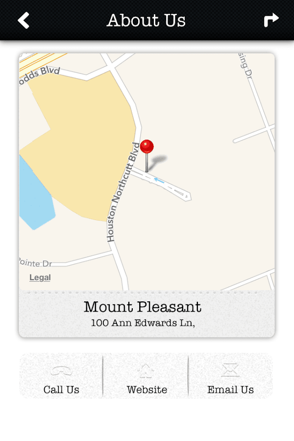 Mount Pleasant SC Police Dept. - screenshot