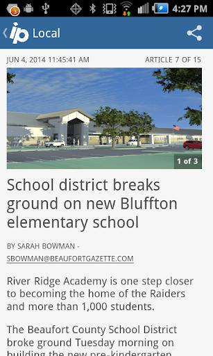 Island Packet Hilton Head news