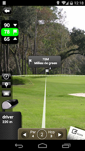 Mobitee GPS Golf One Capture d'écran