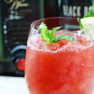 Watermelon-Moscato Slush.