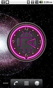 10 Pink Neon Clocks- screenshot thumbnail