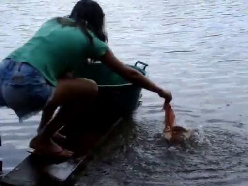极限钓鱼。