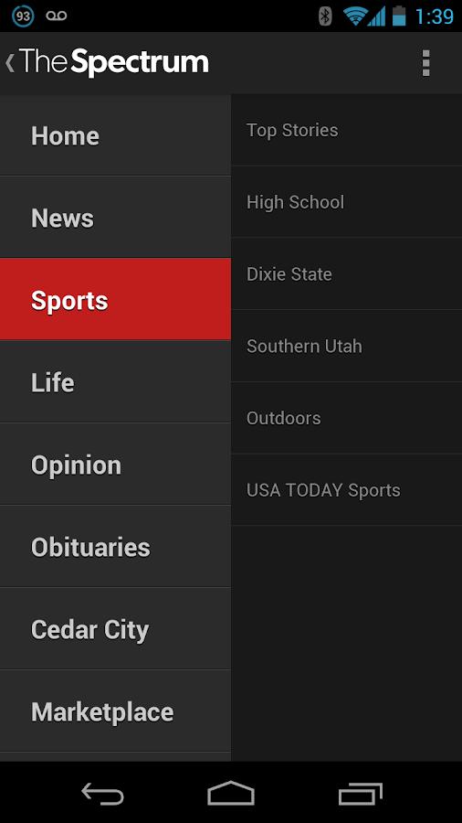 The Spectrum - screenshot