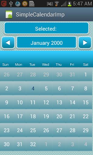 Shareable Calendar