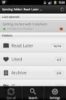 Screenshot of InstaFetch Lite