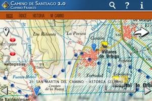 Screenshot of Camino de Santiago