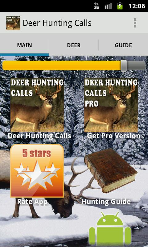 Deer Hunting Calls - screenshot