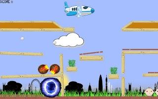 Screenshot of Sky Runner
